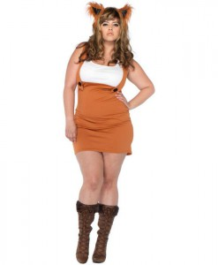 Foxy Lady Adult Plus Costume