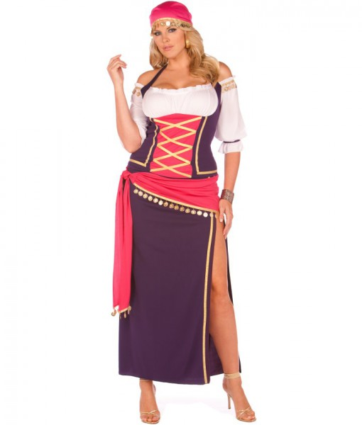 Gypsy Maiden Adult Plus Costume