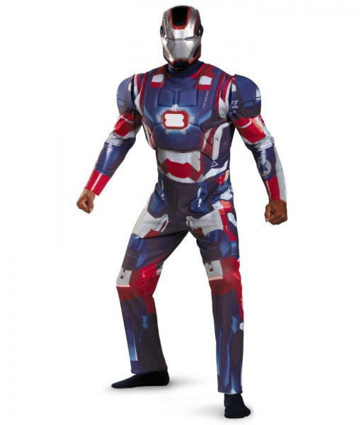 Iron Man 3 Patriot Deluxe Plus Adult Costume