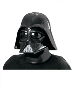 Star Wars Darth Vader 2 Pc. Inj. Molded Mask