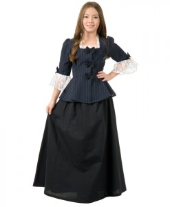 Colonial Girl Child Costume