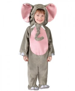 Cuddly Elephant Toddler Costume