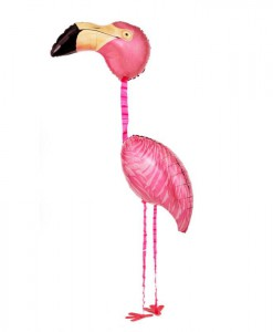 Tropical Flamingo Airwalker 65 Foil Balloon