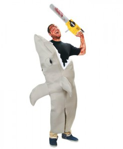 Shark Attack Adult Costume Kit