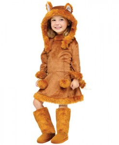 Sweet Fox Child Costume