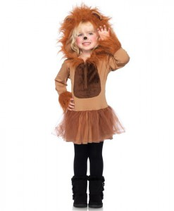 Cuddly Lion Toddler/Child Costume