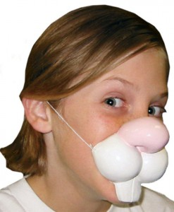 Rabbit Nose with Elastic Band