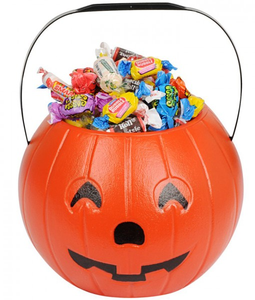 8 Pumpkin Treat Bucket