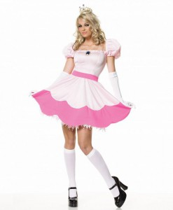Pretty Pink Princess Adult Costume