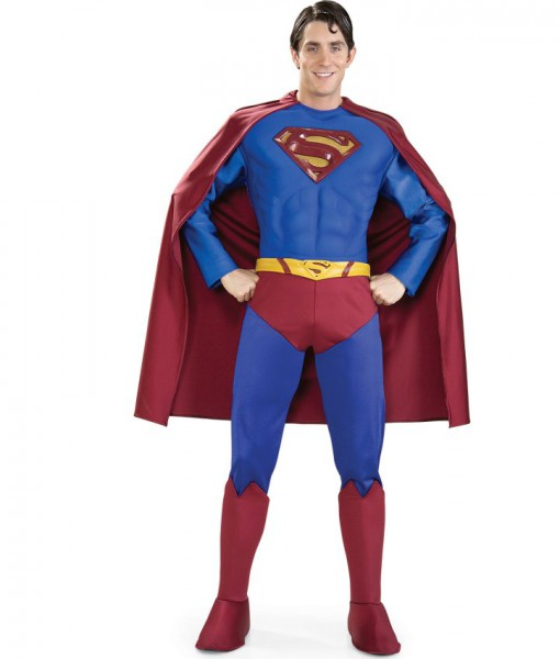 Supreme Superman Muscle Chest (Lycra) Adult