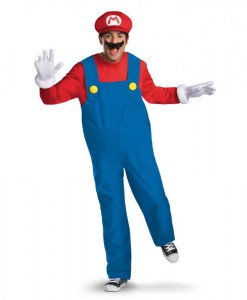 Super Mario Brothers - Mario Adult Plus Size Costume