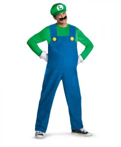 Super Mario Brothers - Luigi Adult Costume