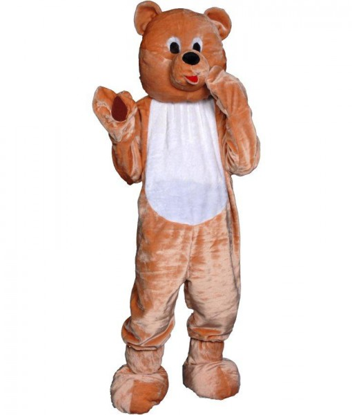 Teddy Bear Economy Mascot Adult Costume