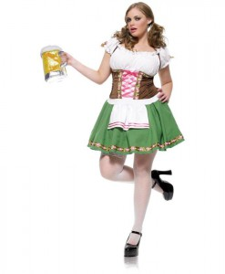 Gretchen Adult Plus Costume