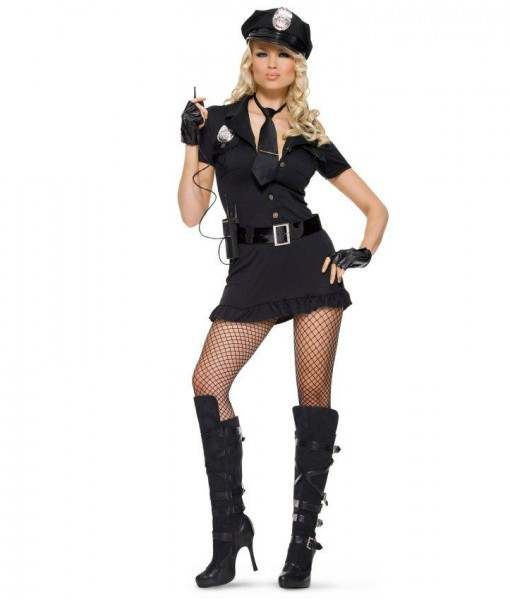 Lady Cop Adult Costume