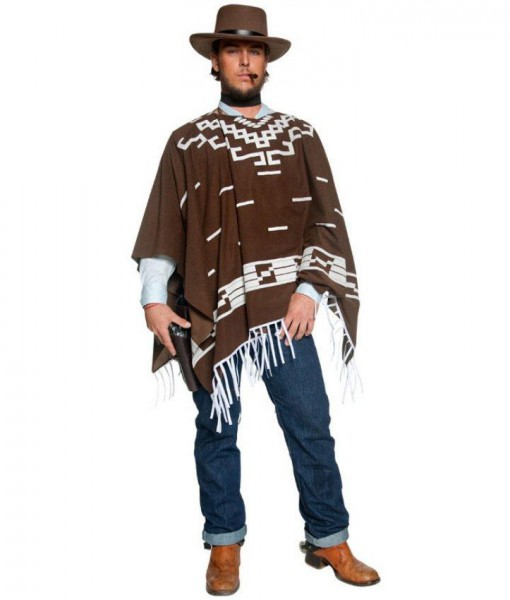 Western Authentic Wandering Gunman Adult Costume