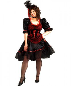 Saloon Girl Adult Costume