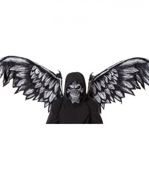 Fallen Angel Adult Mask and Wings Kit