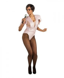 Rihanna Pink Body Suit Adult Costume