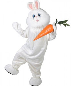 Bunny Plush Deluxe Mascot Adult Costume