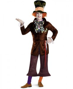 Alice In Wonderland Movie - Prestige Mad Hatter Teen Costume