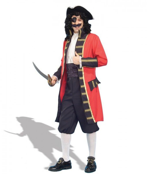 Buccaneer Captain Adult Costume