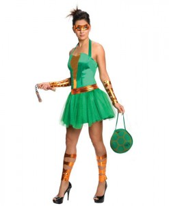 Teenage Mutant Ninja Turtles Michelangelo Adult Dress
