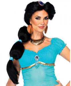 Disney Princesses Jasmine Adult Wig
