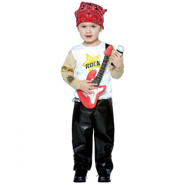 Halloween Rockstar.Future Rockstar Toddler Costume