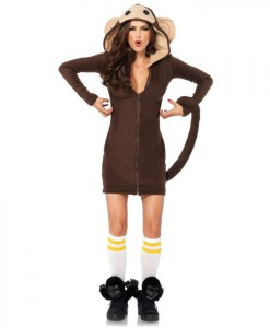 Cozy Monkey Costume