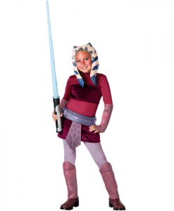 Star Wars Animated Deluxe Ahsoka Child Costume