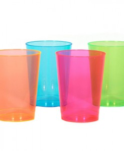 Neon 10 oz. Tall Tumblers Assorted (50 count)