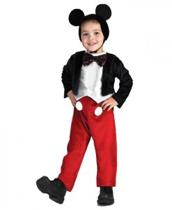 Disney Mickey Mouse Deluxe Toddler / Child Costume