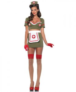 Army Nurse Anna Sexy Costume