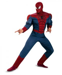 Spider-Man Movie 2 - Adult Muscle Chest Plus Size Costume