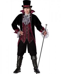 Vampire of Versailles Elite Adult Costume