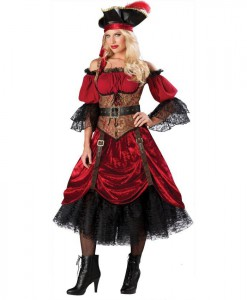 Swash Bucklin' Scarlet Elite Adult Costume