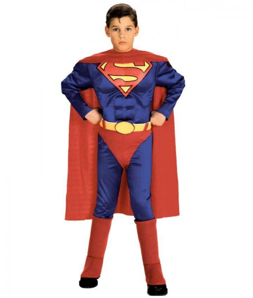 Superman with Chest Toddler / Child Costume
