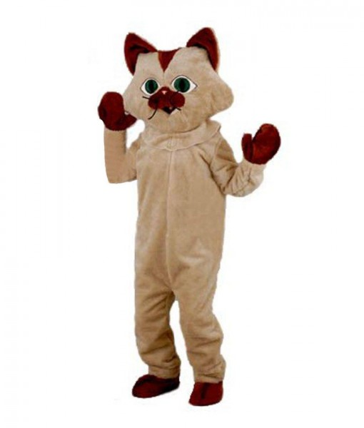 Kitty Cat Mascot Adult