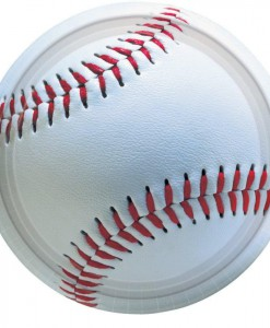 Baseball Fan - Dessert Plates (8 count)