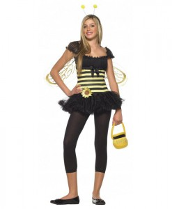 Sunflower Bee Teen Costume