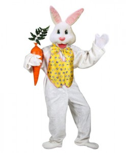Professional Easter Bunny Adult Costume
