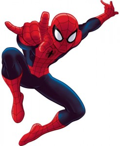 The Amazing Spider-Man Peel and Stick Giant Wall Decals