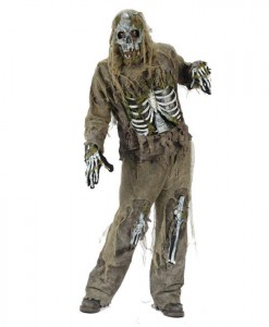 Skeleton Zombie Adult Costume