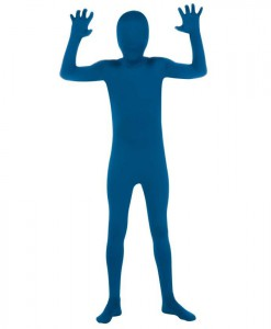 Blue Skin Suit Child Costume