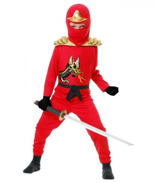 Red Ninja Avengers Series II Toddler Costume