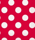 Red and White Dots Lunch Napkins (16)