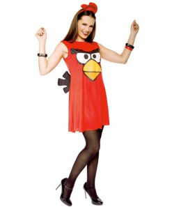 Rovio Angry Birds Sassy Red Bird Adult Costume