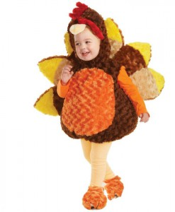 Turkey Toddler Costume
