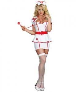 Nurse Knockout Adult Costume